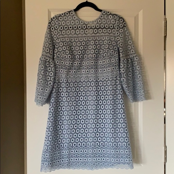 J. Crew Dresses & Skirts - JCrew Light Blue Bell Sleeve Dress